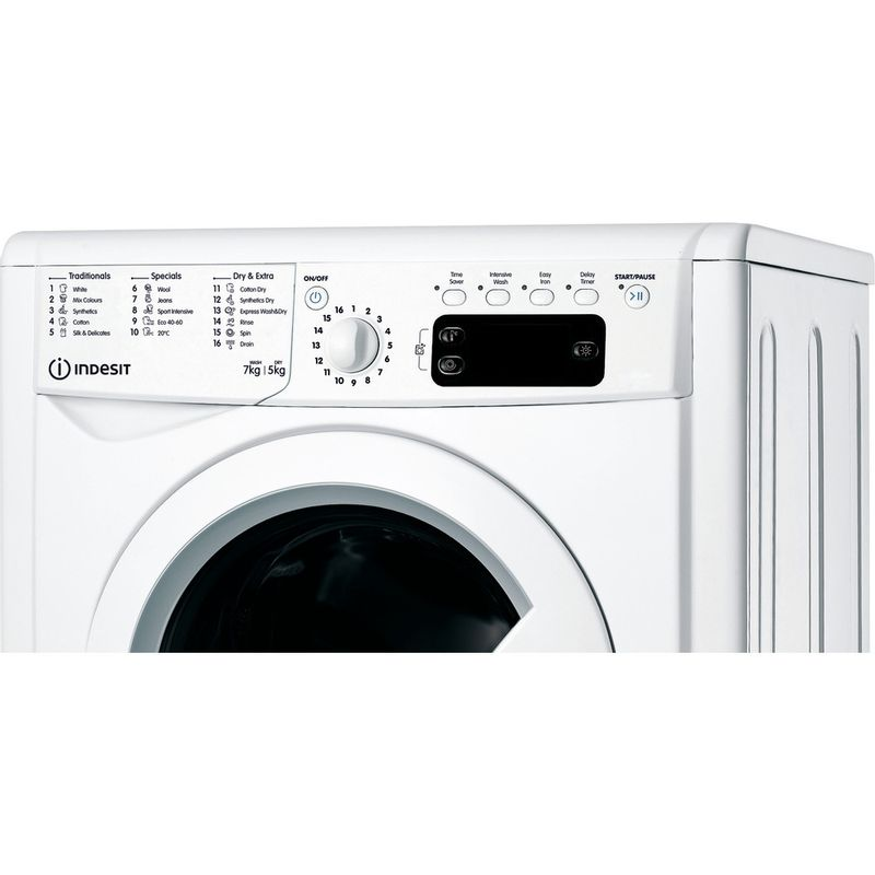 Indesit-Washer-dryer-Free-standing-IWDD-75145-UK-N-White-Front-loader-Control-panel