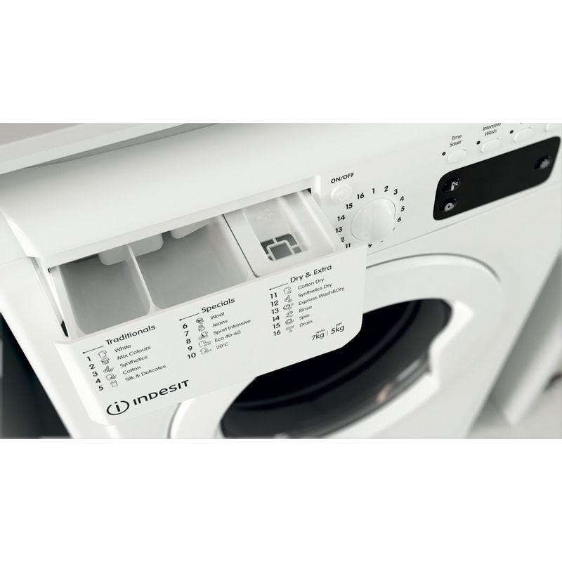 Indesit-Washer-dryer-Free-standing-IWDD-75145-UK-N-White-Front-loader-Drawer