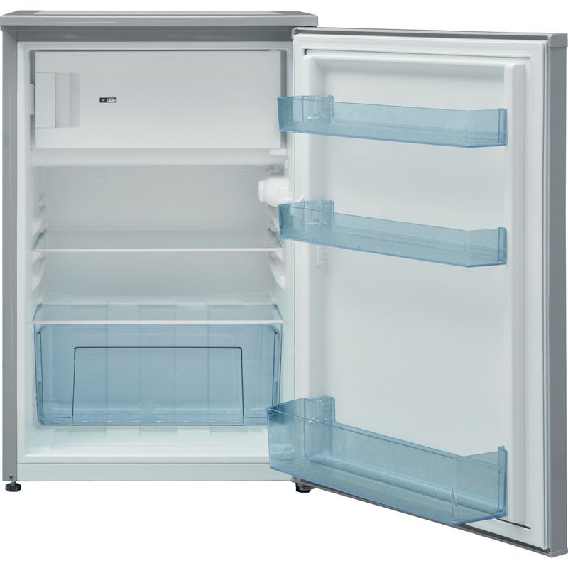 Indesit-Refrigerator-Free-standing-I55VM-1110-S-UK-1-Silver-Frontal-open
