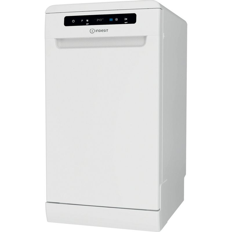 Indesit-Dishwasher-Free-standing-DSFO-3T224-Z-UK-N-Free-standing-E-Perspective