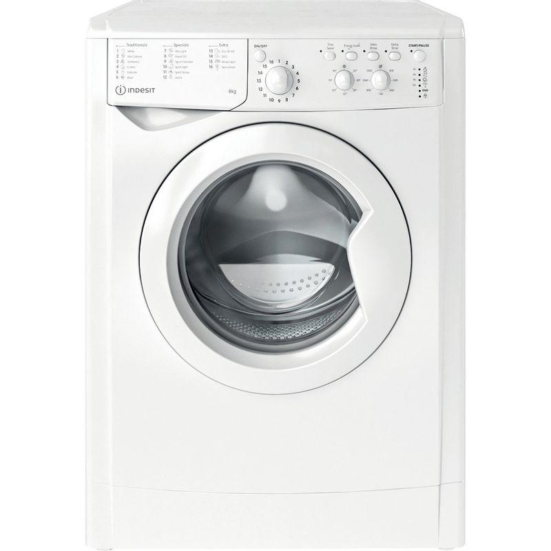 Indesit-Washing-machine-Free-standing-IWC-81251-W-UK-N-White-Front-loader-F-Frontal