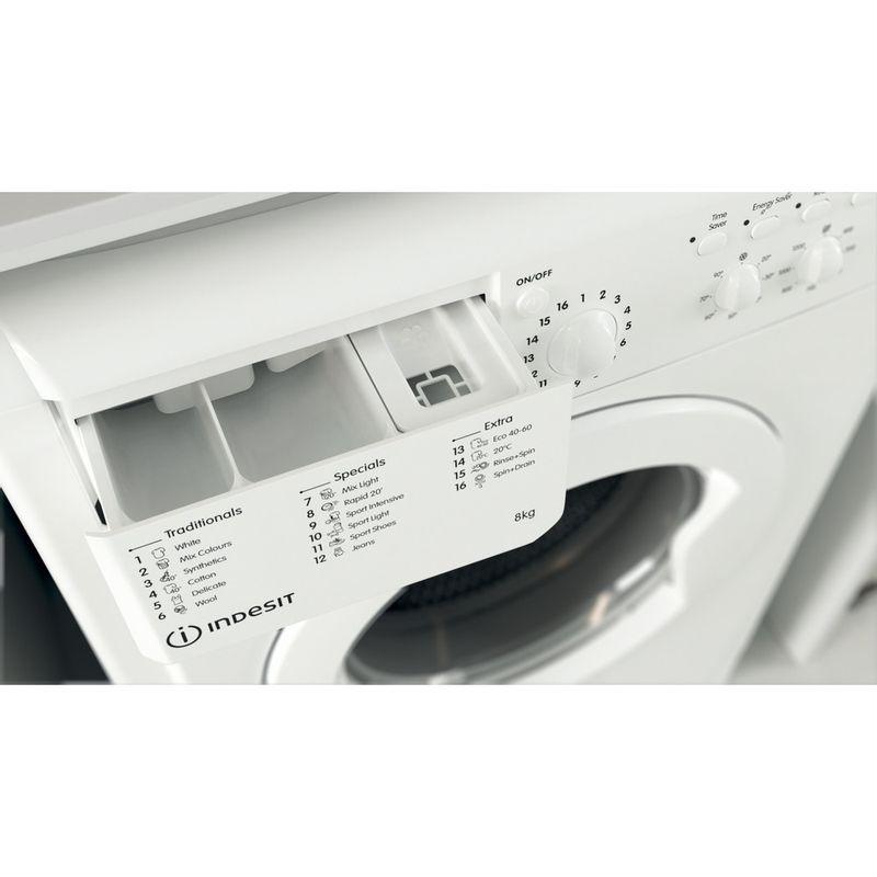 Indesit-Washing-machine-Free-standing-IWC-81251-W-UK-N-White-Front-loader-F-Drawer