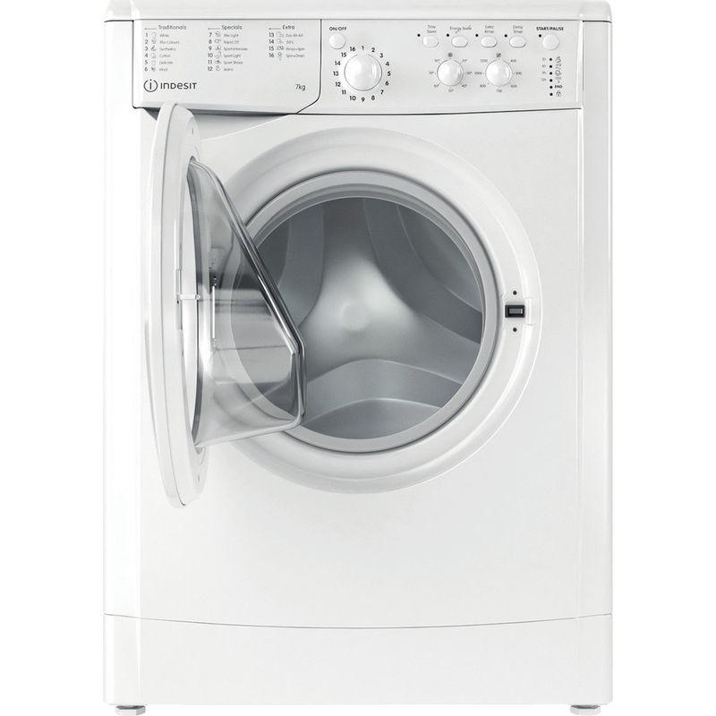 Indesit-Washing-machine-Free-standing-IWC-71252-W-UK-N-White-Front-loader-E-Frontal-open