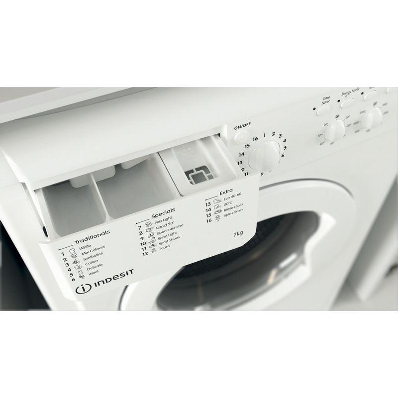 Indesit-Washing-machine-Free-standing-IWC-71252-W-UK-N-White-Front-loader-E-Drawer