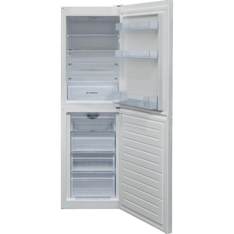 Indesit-Fridge-Freezer-Free-standing-IBNF-55181-W-UK-1-White-2-doors-Frontal-open