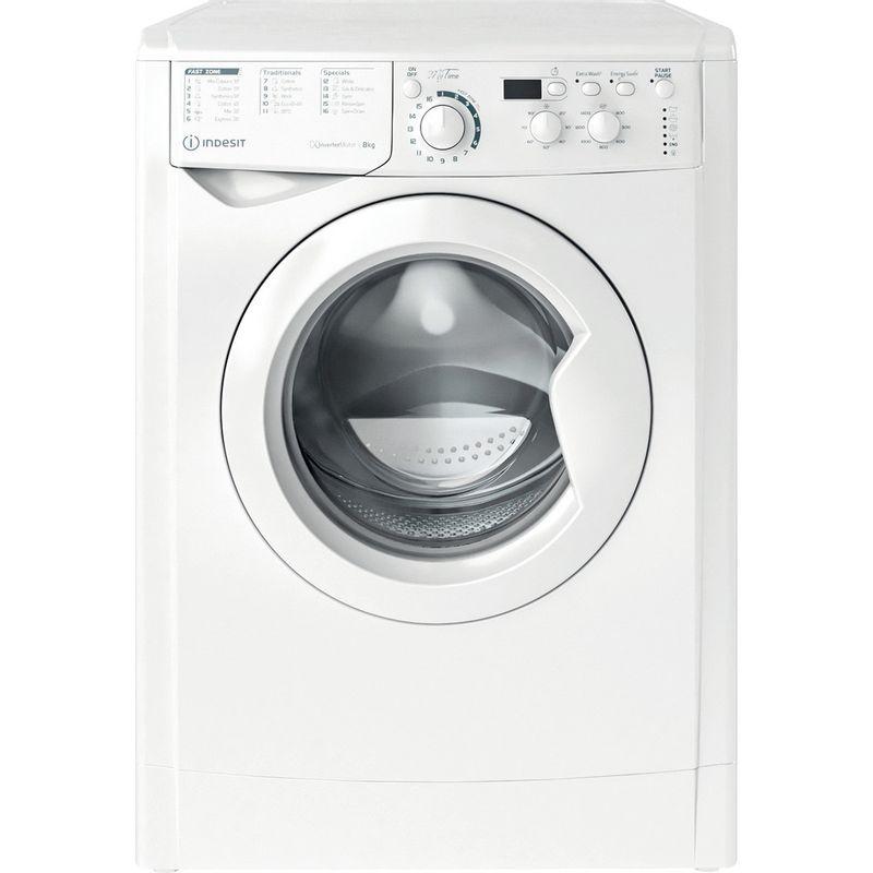 Indesit-Washing-machine-Free-standing-EWD-81483-W-UK-N-White-Front-loader-D-Frontal