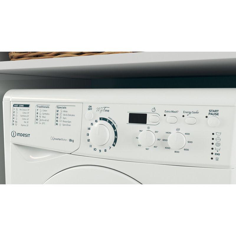 Indesit-Washing-machine-Free-standing-EWD-81483-W-UK-N-White-Front-loader-D-Lifestyle-control-panel