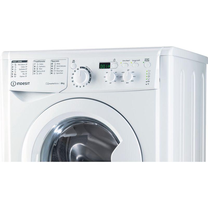 Indesit-Washing-machine-Free-standing-EWD-81483-W-UK-N-White-Front-loader-D-Control-panel