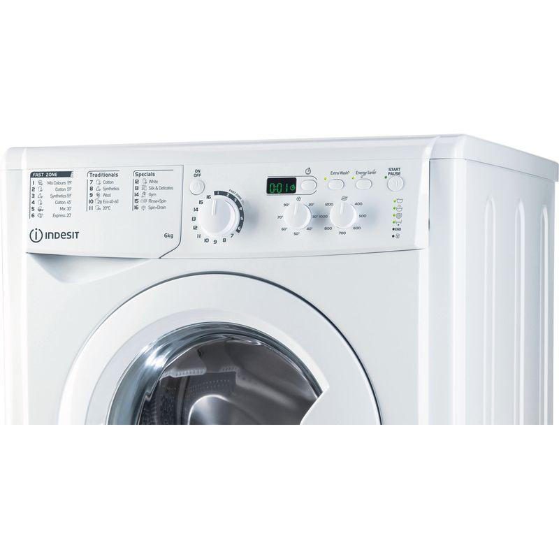 Indesit-Washing-machine-Free-standing-EWSD-61251-W-UK-N-White-Front-loader-F-Control-panel
