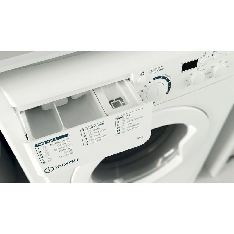Indesit-Washing-machine-Free-standing-EWSD-61251-W-UK-N-White-Front-loader-F-Drawer