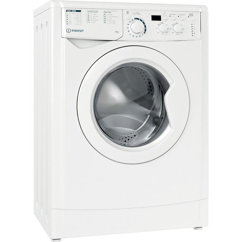 Indesit-Washing-machine-Free-standing-EWSD-61251-W-UK-N-White-Front-loader-F-Perspective