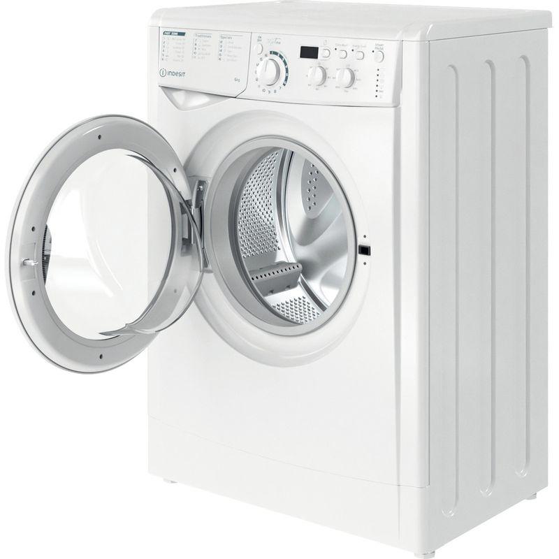 Indesit-Washing-machine-Free-standing-EWSD-61251-W-UK-N-White-Front-loader-F-Perspective-open