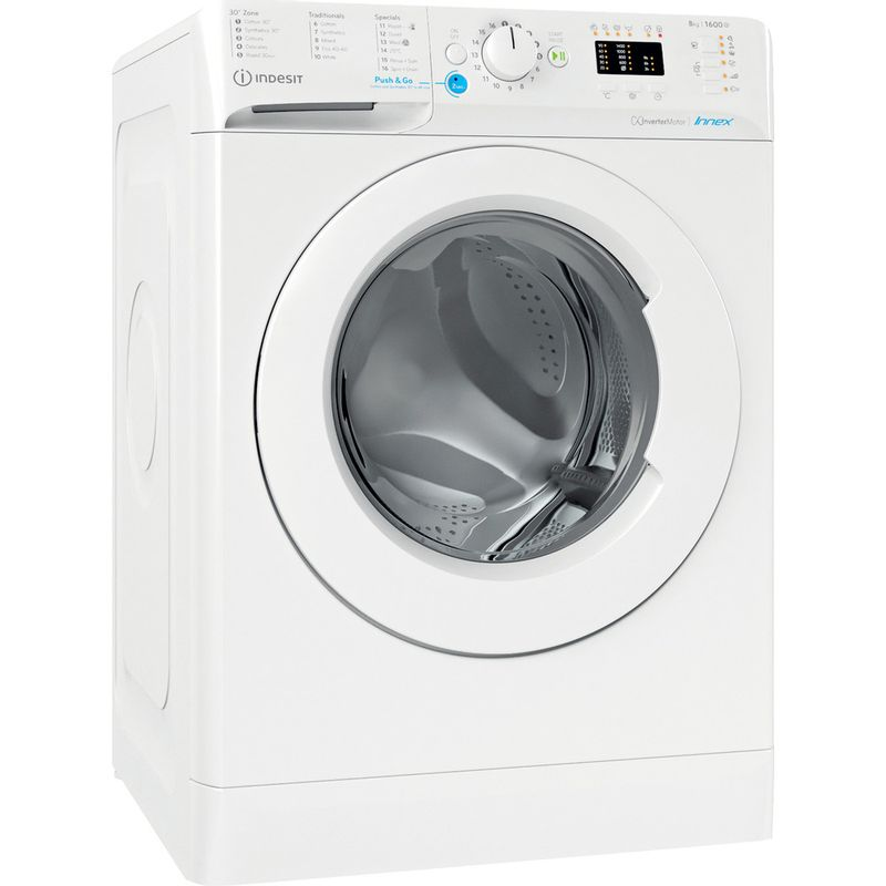 Indesit-Washing-machine-Free-standing-BWA-81683X-W-UK-N-White-Front-loader-D-Perspective