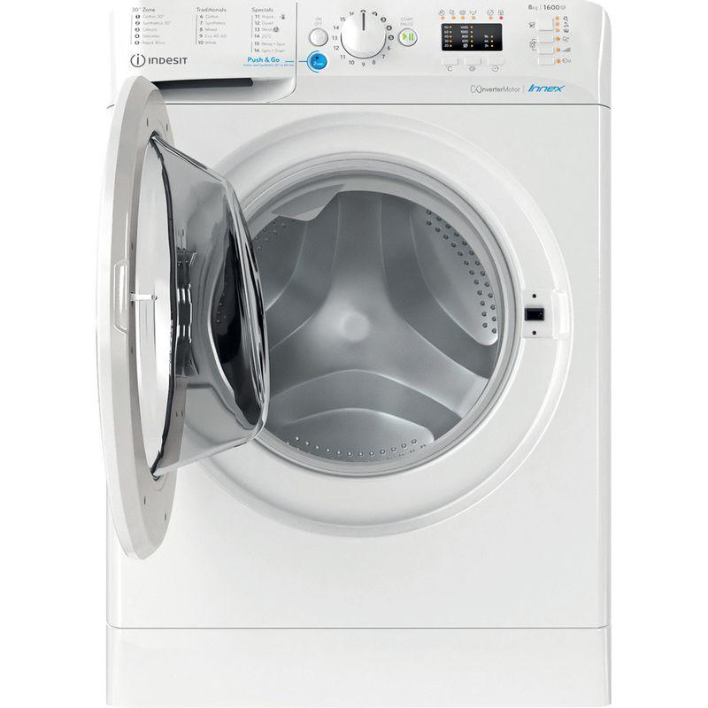 Indesit-Washing-machine-Free-standing-BWA-81683X-W-UK-N-White-Front-loader-D-Frontal-open