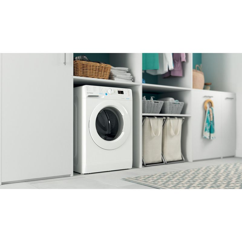 Indesit-Washing-machine-Free-standing-BWA-81683X-W-UK-N-White-Front-loader-D-Lifestyle-perspective