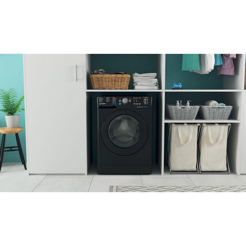 Indesit-Washing-machine-Free-standing-BWA-81683X-K-UK-N-Black-Front-loader-D-Lifestyle-frontal