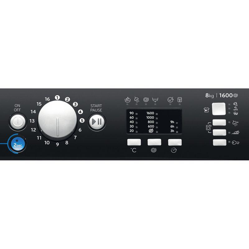 Indesit-Washing-machine-Free-standing-BWA-81683X-K-UK-N-Black-Front-loader-D-Control-panel
