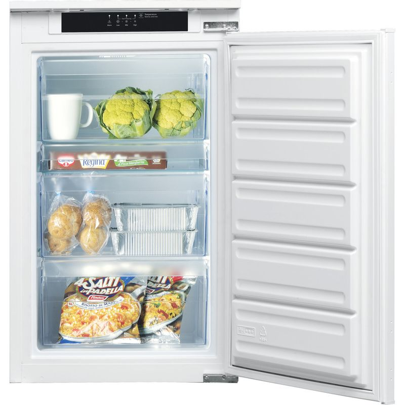 Indesit-Freezer-Built-in-INF-901-EAA-1-White-Frontal-open