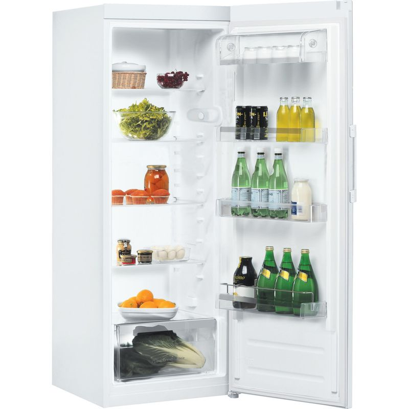 Indesit-Refrigerator-Free-standing-SI6-1-W-1-Global-white-Perspective-open