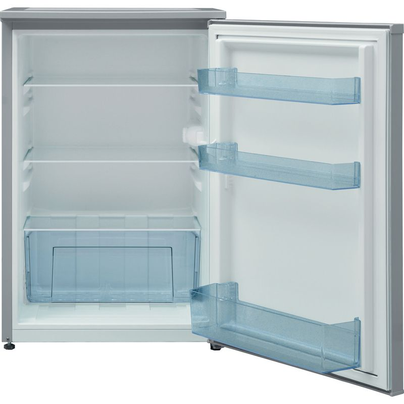 Indesit-Refrigerator-Free-standing-I55RM-1110-S-1-Silver-Frontal-open