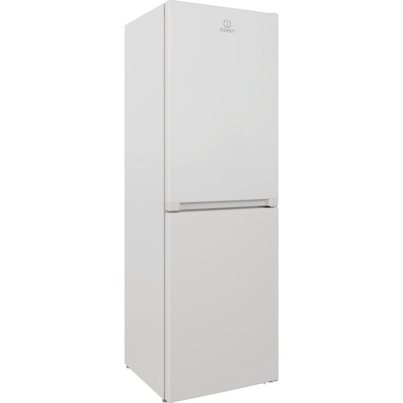 Indesit-Fridge-Freezer-Free-standing-INFC8-50TI1-W-1-White-2-doors-Perspective