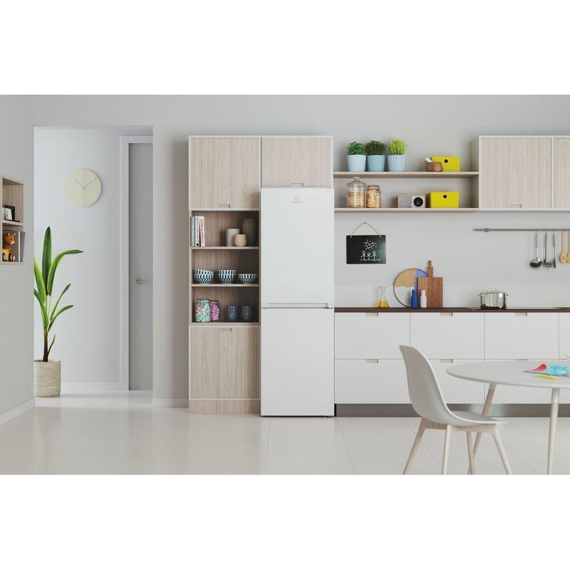 Indesit-Fridge-Freezer-Free-standing-INFC8-50TI1-W-1-White-2-doors-Lifestyle-frontal