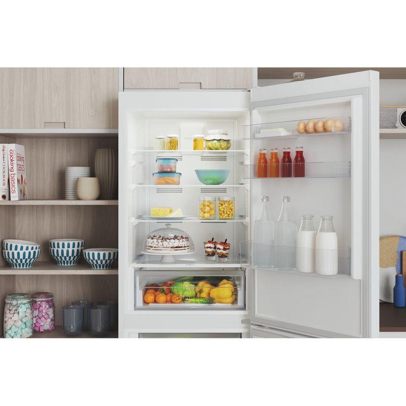 Indesit-Fridge-Freezer-Free-standing-INFC8-50TI1-W-1-White-2-doors-Lifestyle-detail