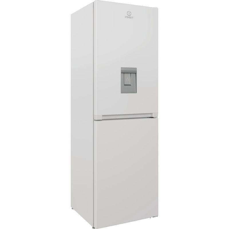 Indesit-Fridge-Freezer-Free-standing-INFC8-50TI1-W-AQUA-1-White-2-doors-Perspective