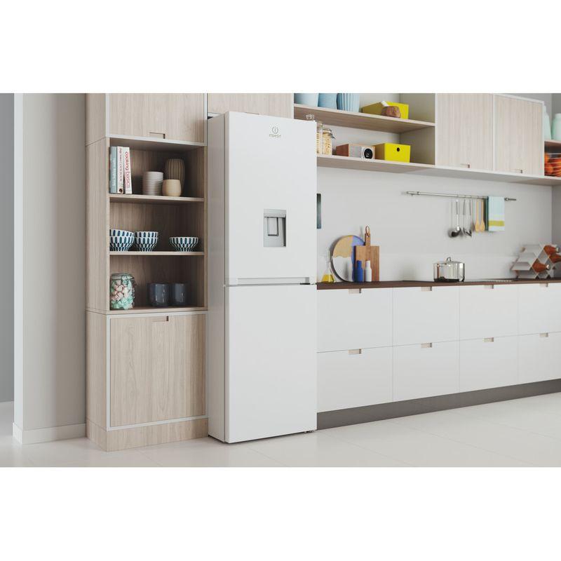 Indesit-Fridge-Freezer-Free-standing-INFC8-50TI1-W-AQUA-1-White-2-doors-Lifestyle-perspective