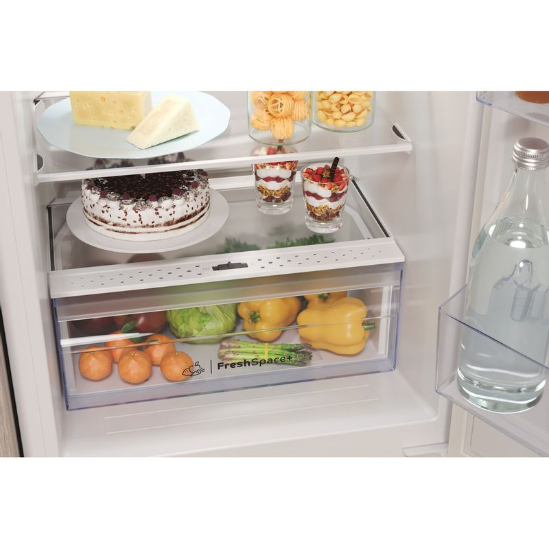 Indesit-Fridge-Freezer-Built-in-IBC18-5050-F1-White-2-doors-Drawer