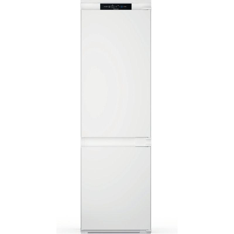 Indesit-Fridge-Freezer-Built-in-INC18-T311-UK-White-2-doors-Frontal