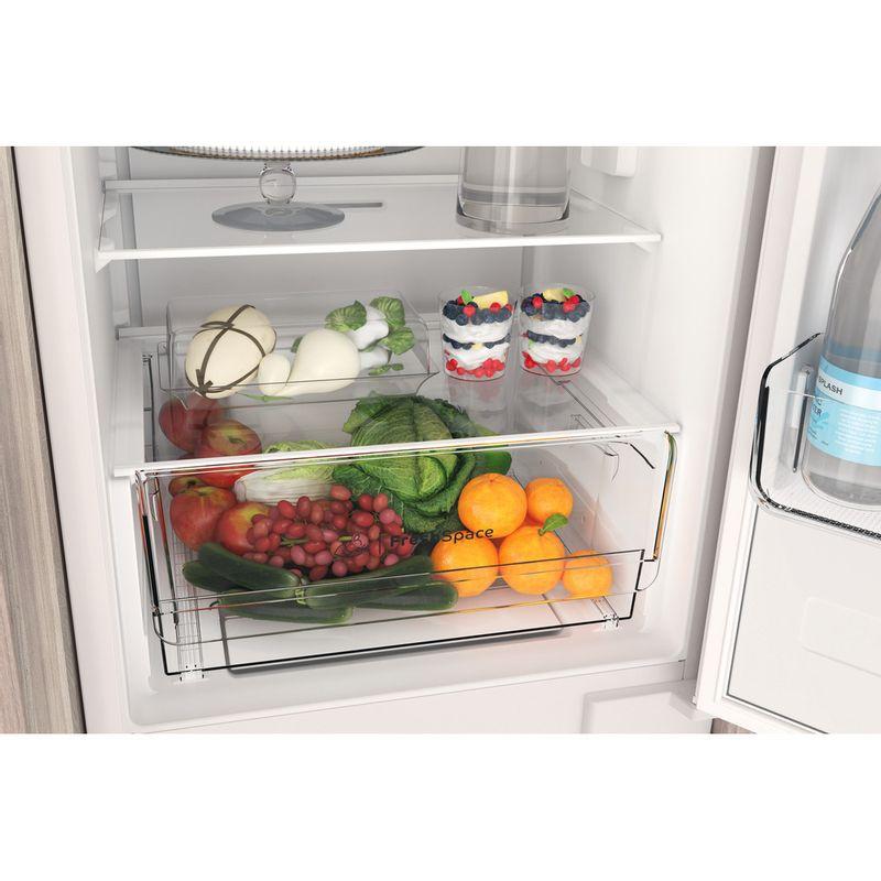 Indesit-Fridge-Freezer-Built-in-INC18-T311-UK-White-2-doors-Drawer