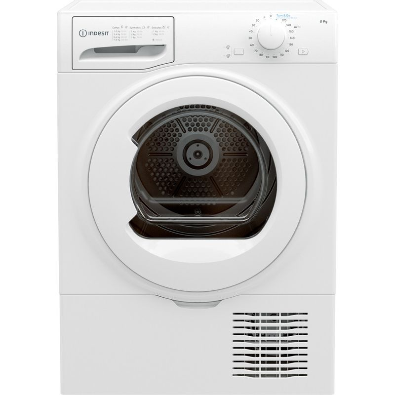 Indesit-Dryer-I2-D81W-UK-White-Frontal