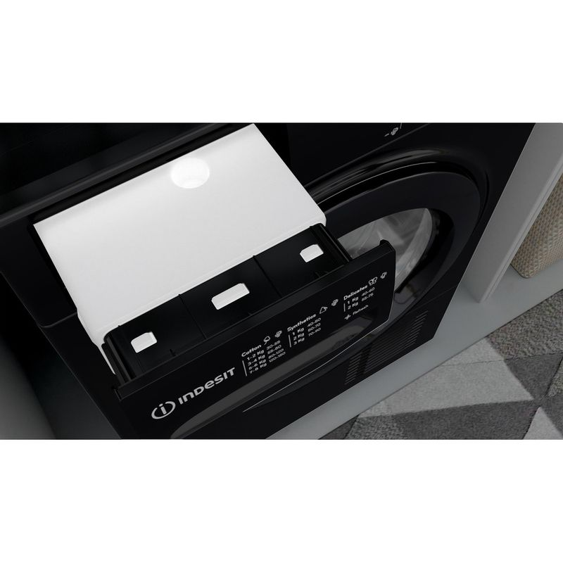 Indesit-Dryer-I2-D81B-UK-Black-Drawer