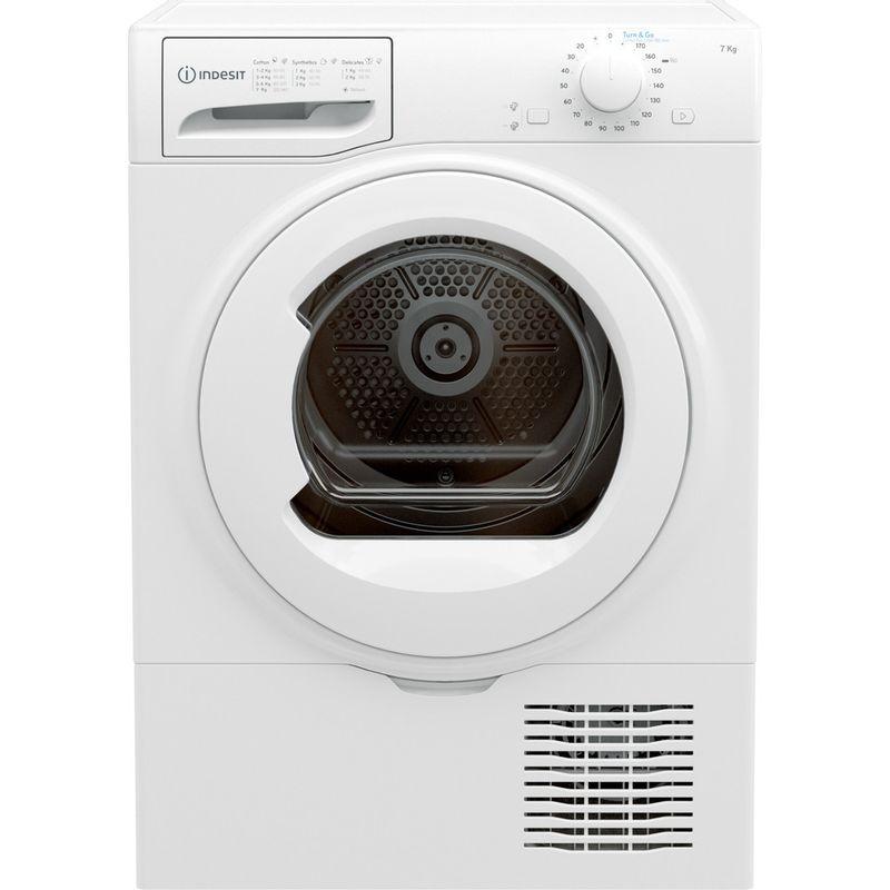 Indesit-Dryer-I2-D71W-UK-White-Frontal