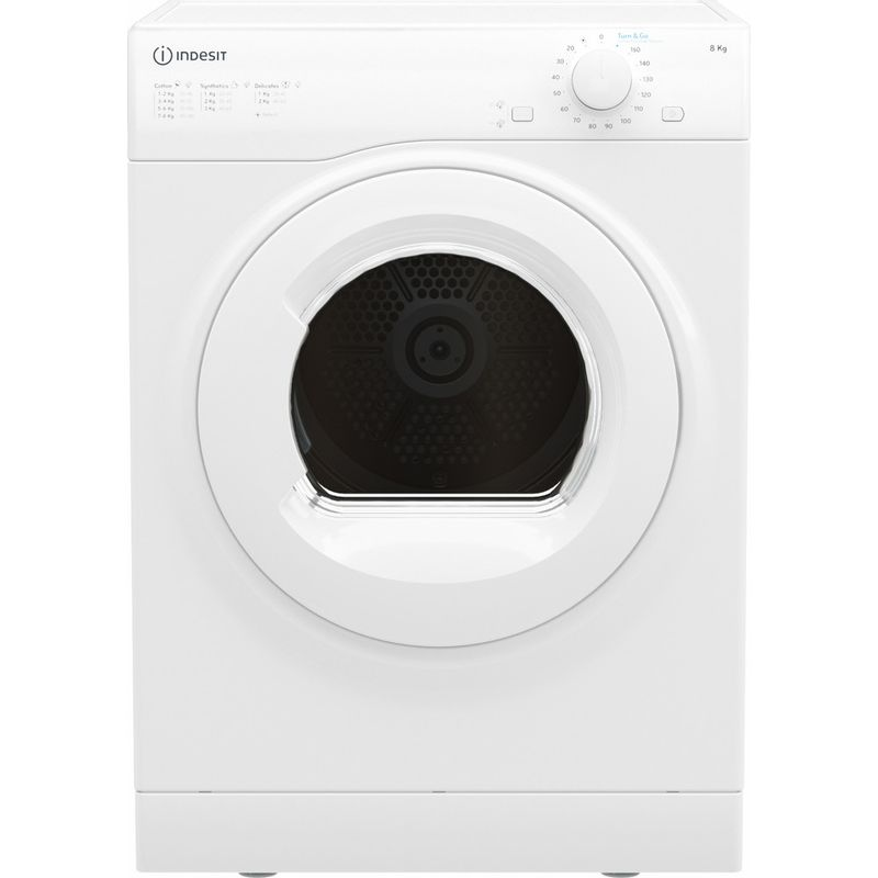 Indesit-Dryer-I1-D80W-UK-White-Frontal