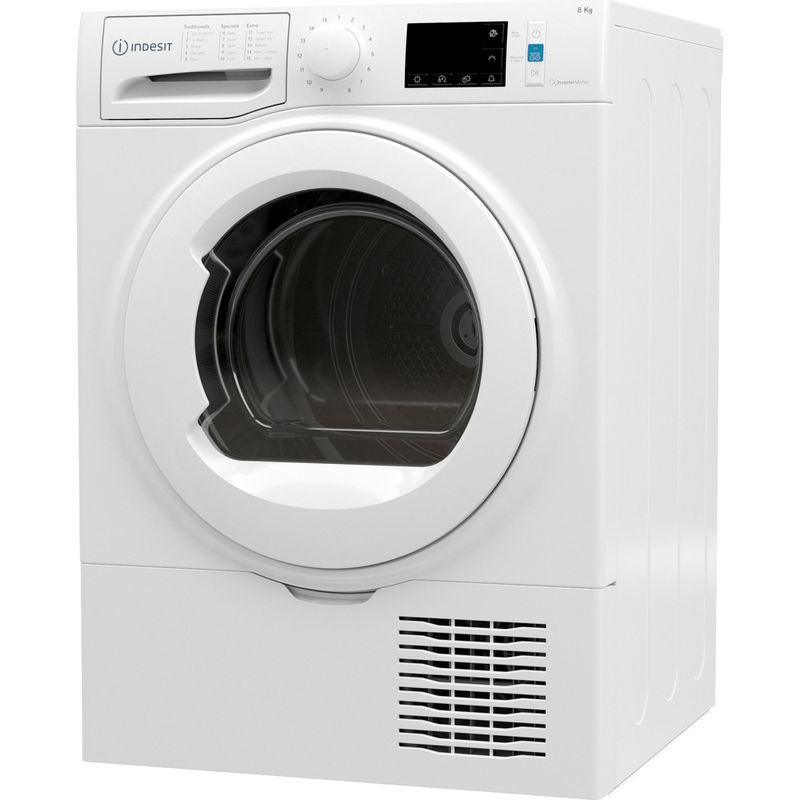 Indesit-Dryer-I3-D81W-UK-White-Perspective