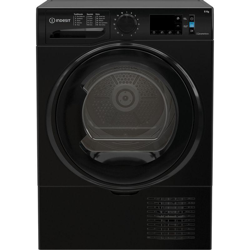 Indesit-Dryer-I3-D81B-UK-Black-Frontal