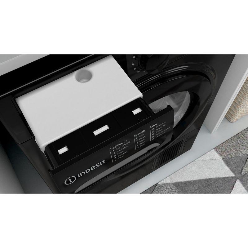 Indesit-Dryer-I3-D81B-UK-Black-Drawer