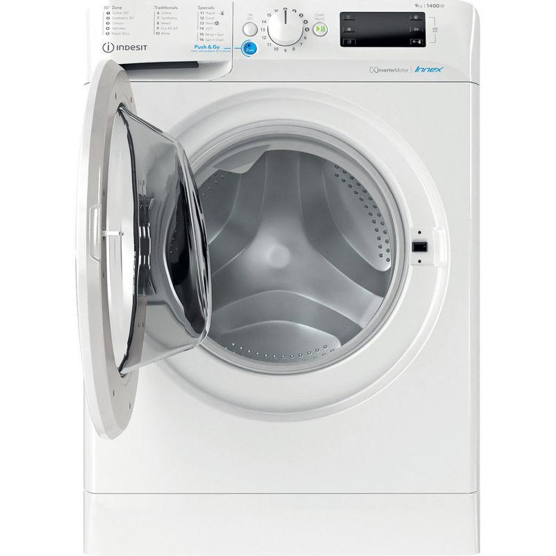 Indesit-Washing-machine-Free-standing-BWE-91485X-W-UK-N-White-Front-loader-B-Frontal-open