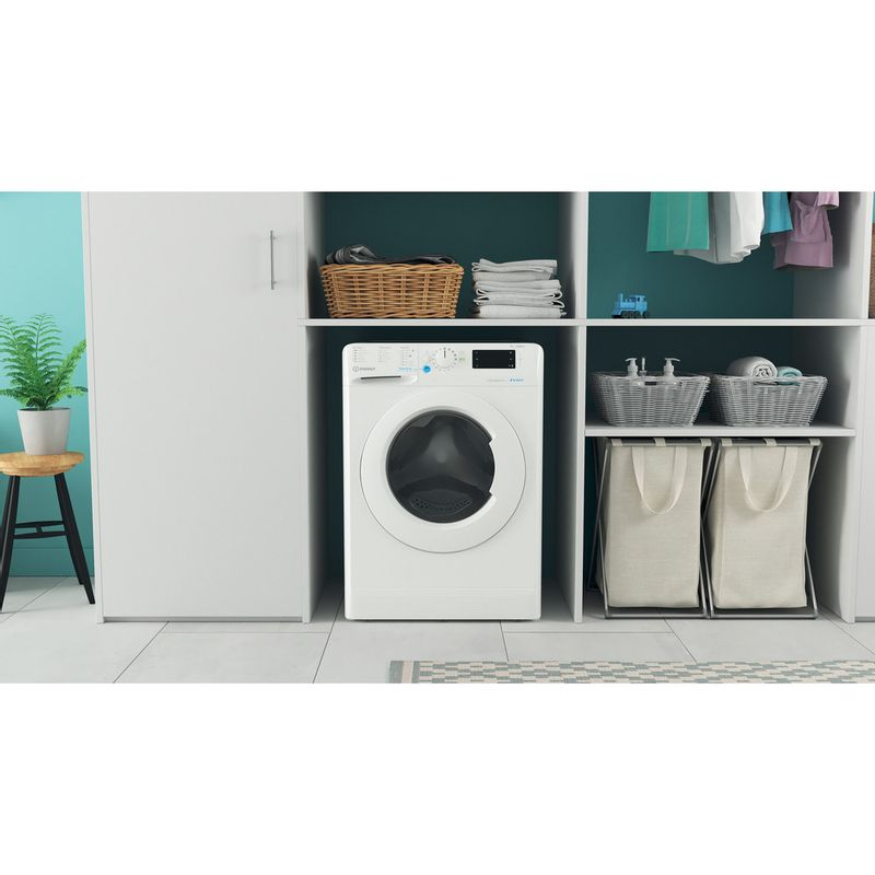 Indesit-Washing-machine-Free-standing-BWE-91485X-W-UK-N-White-Front-loader-B-Lifestyle-frontal