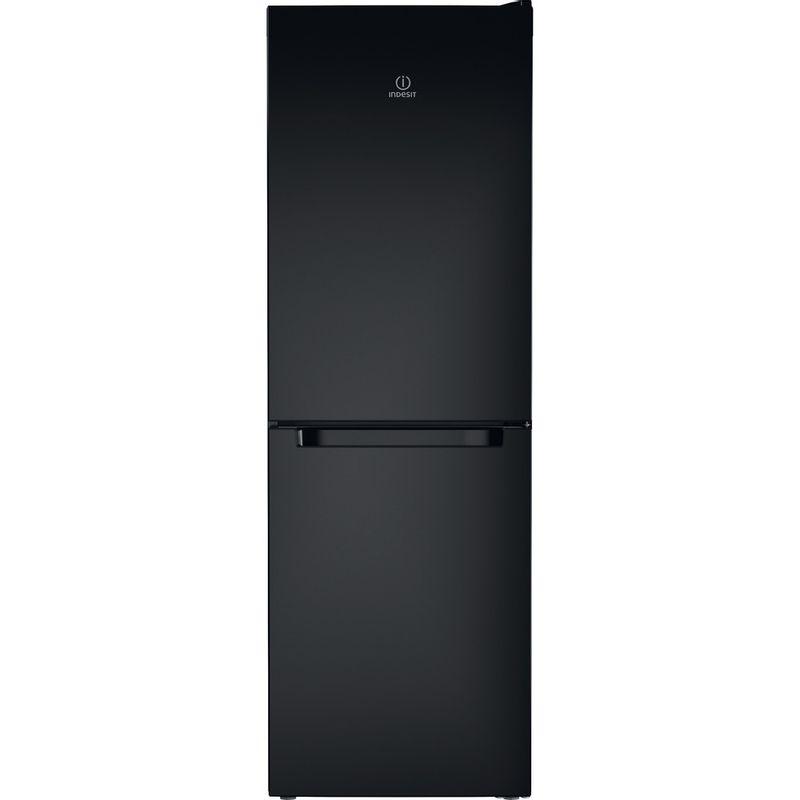 Indesit-Fridge-Freezer-Free-standing-LD70-N1-K-Black-2-doors-Frontal