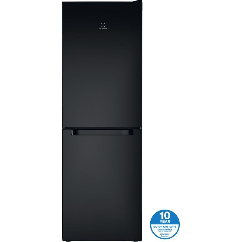 Indesit-Fridge-Freezer-Free-standing-LD70-N1-K-Black-2-doors-Award