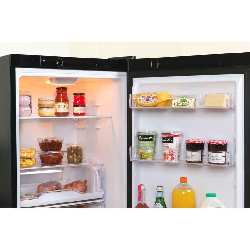 Indesit-Fridge-Freezer-Free-standing-LD70-N1-K-Black-2-doors-Lifestyle-detail