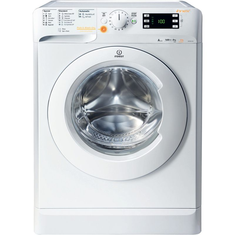 Indesit-Washer-dryer-Free-standing-XWDE-751480X-W-UK-White-Front-loader-Frontal