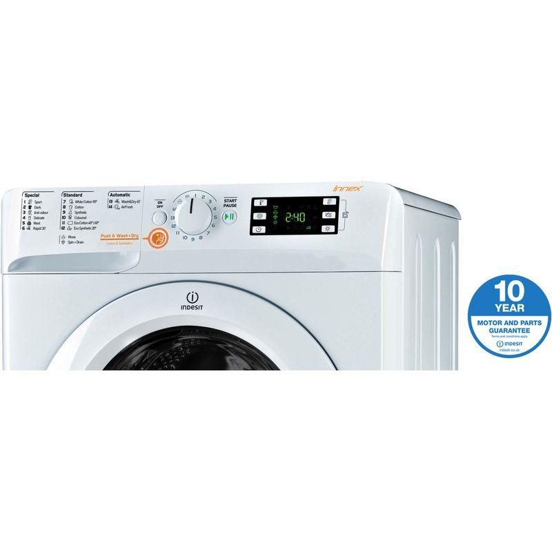 Indesit-Washer-dryer-Free-standing-XWDE-751480X-W-UK-White-Front-loader-Award
