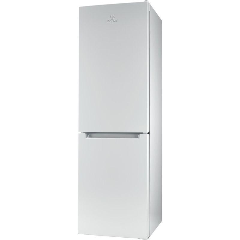 Indesit-Fridge-Freezer-Free-standing-LR8-S1-W-UK-White-2-doors-Perspective
