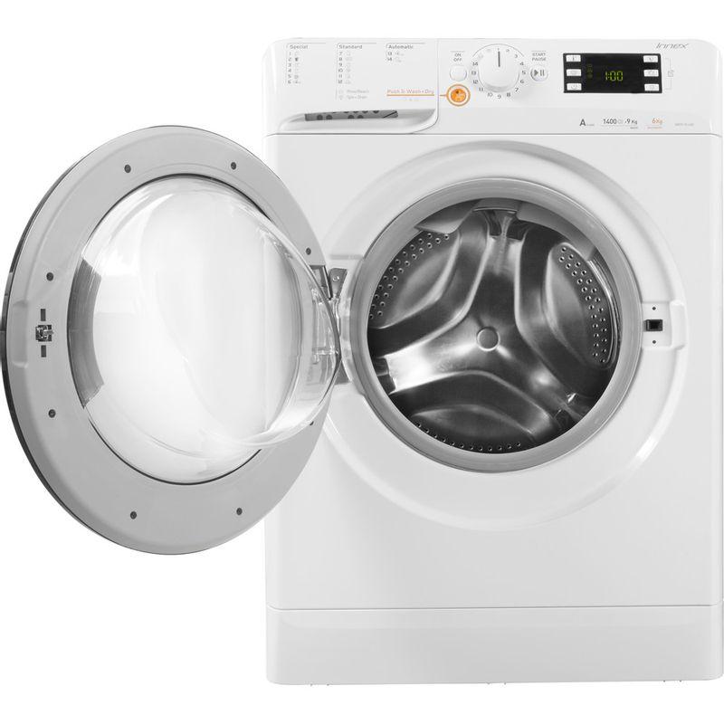 Indesit-Washer-dryer-Free-standing-XWDE-961480X-WKKK-UK-White-Front-loader-Frontal-open