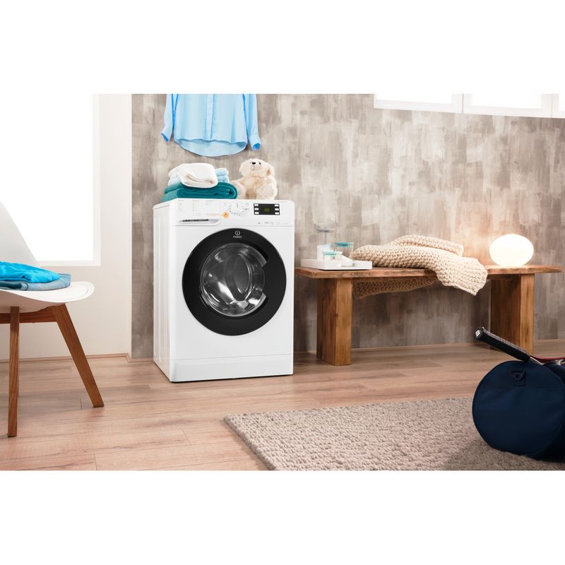 Indesit-Washer-dryer-Free-standing-XWDE-961480X-WKKK-UK-White-Front-loader-Lifestyle-perspective