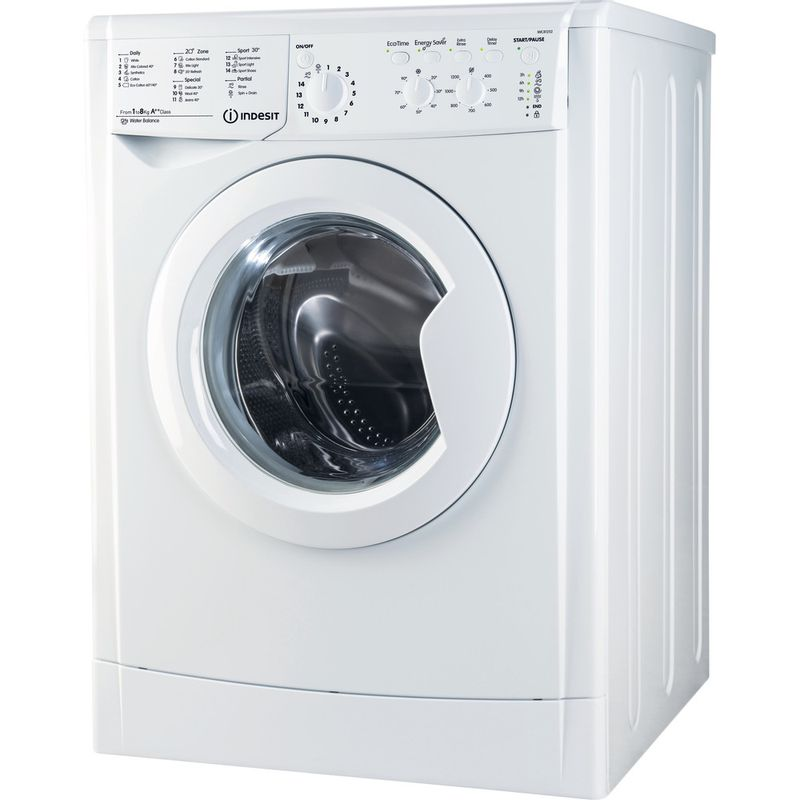 Indesit-Washing-machine-Free-standing-IWC-81252-ECO-UK.M-White-Front-loader-A---Perspective
